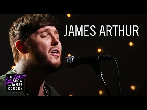 Watch: James Arthur makes stunning U.S. TV performance debut on 'The Late Late Show with James Corden'