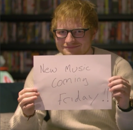 Ed Sheeran adds another piece to his new music puzzle