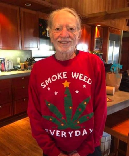 That look when Snoop Dogg sends you a dope Christmas sweater.