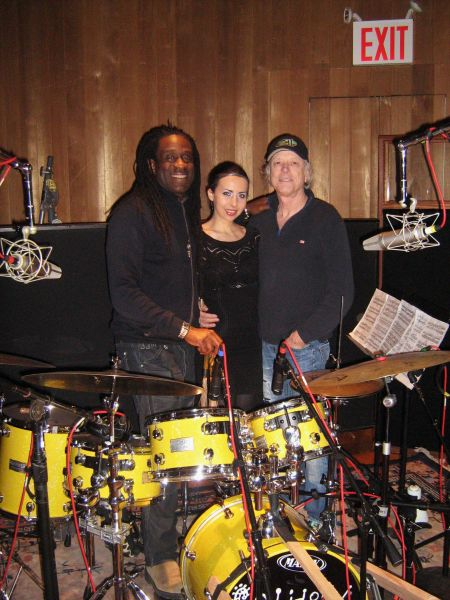 Will Calhoun, Tania Stavreva and Ron Saint Germain collaborate on the album, Rhythmic Movement.