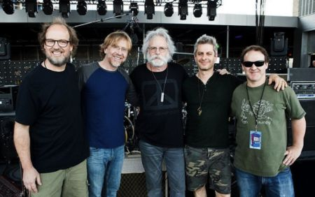 Bob Weir of the Grateful Dead with Phish in Nashville.