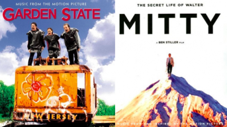 Which of these two amazing soundtracks would you listen to if you had to pick one, Garden State or The Secret Life of Walter Mitty?