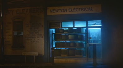 The storefront of Newton Electrical