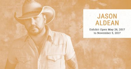 Jason Aldean to open Country Music Hall of Fame exhibit on May 26, 2017.