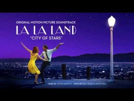 Golden Globe Best Original Song winners dedicate award to 'musical theater nerds' in Matt and Ben moment