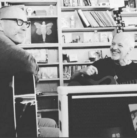 Peter Frampton and Gordon Kennedy