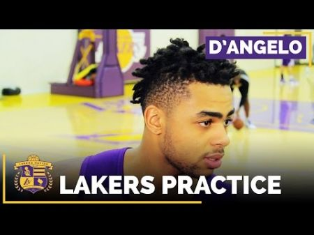 Luke Walton sees 'real change' in D'Angelo Russell and Julius Randle's preparation, professionalism