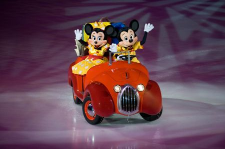 Mickey and Minnie are always ready for Disney On Ice