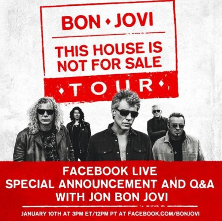 Bon Jovi to hold opening act contest for upcoming tour