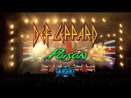 Def Leppard announces 2017 North American tour with guests Poison and Tesla