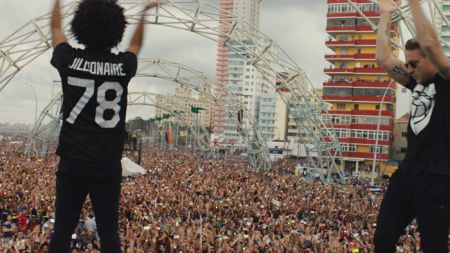 """A scene from """"Give Me Future,"""" a documentary about Major Lazer's March 2016 trip to Cuba."""