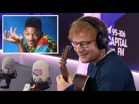 Watch: Ed Sheeran covers 'Fresh Prince of Bel-Air' theme and nails it