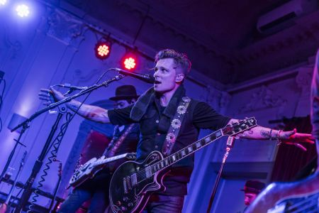 Frankie Ballard performs live in London.