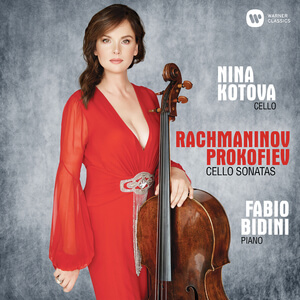 Nina Kotova releases great classical album 'Rachmaninov - Prokoflev: Cello Sonatas'