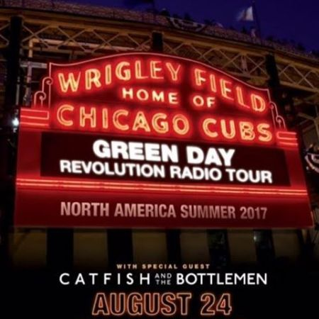 Green Day are playing Chicago's Wrigley Field for the first time ever this summer