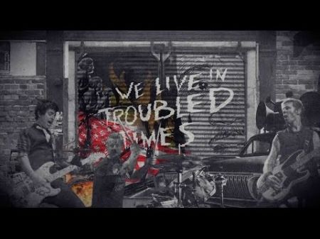 Green Day release new lyric video for 'Troubled Times'