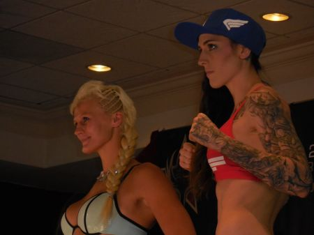 Megan Anderson is itching for a UFC title fight