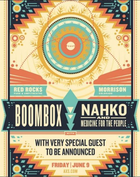 BoomBox & Nahko and Medicine for the People perfrom at Red Rocks on June 9
