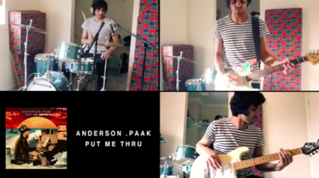 Harts coversChance The Rapper, Childish Gambino, Anderson Paak, and more in a new multi-instrumentation mashup posted on his Instagram on W