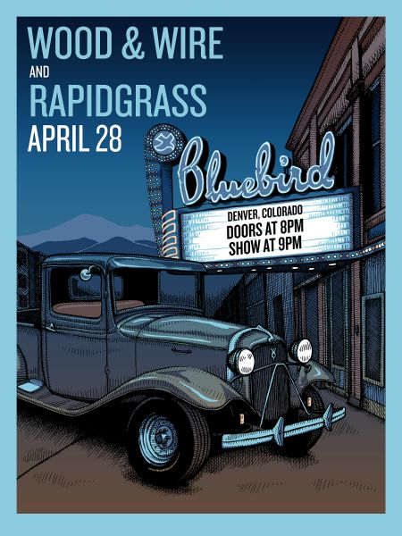 Wood & Wire are coming up from Austin with a fresh bluegrass sound