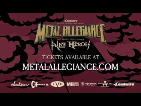 Metal Allegiance to pay tribute to fallen musical heroes