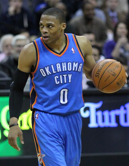 Russell Westbrook, despite averaging a triple-double, was omitted from the Western Conference's starting five in the All-Star Game.