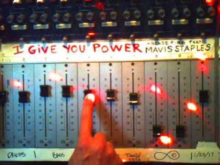 Mavis Staples adds powerful voice with Arcade Fire to 'I Give You Power'
