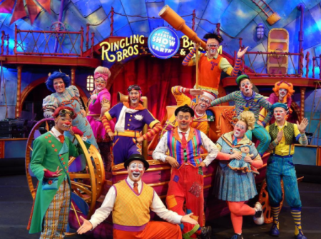 Ringling Brothers Circus 2019 Schedule Ringling Bros. and Barnum & Bailey Circus schedule, dates, events