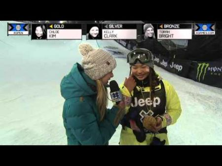 Kim and Gold win World Cup gold and silver in women's halfpipe snowboarding