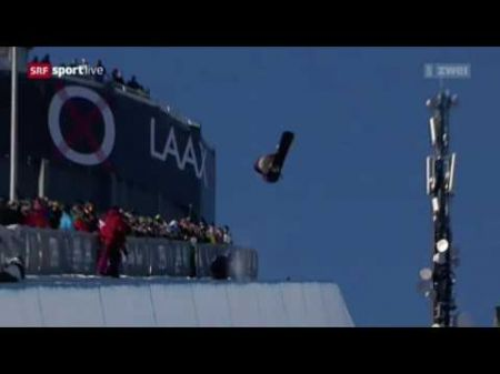 Chase Josey wins World Cup halfpipe snowboarding gold in Switzerland