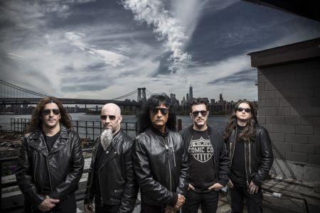 Thrash metal band Anthrax