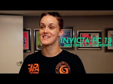 MMA featherweight sensation Amber Leibrock makes sense for Invicta FC 22
