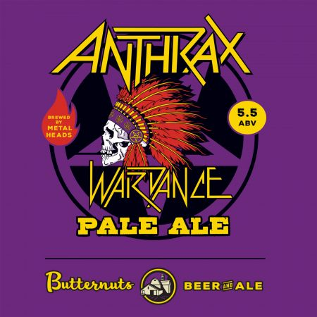 Anthrax to release 'Wardance' craft beer