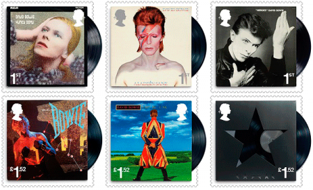 The Royal Mail announced on Wednesday that a limited edition set of David Bowie tribute stamps would be produced and go on sale this coming