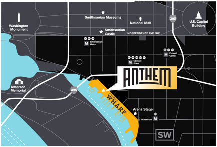 The Anthem is set to open October 12, 2017.