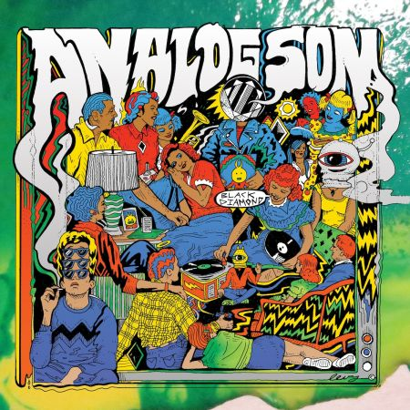 "The awesome cover art for Analog Son's new album ""Black Diamond"""