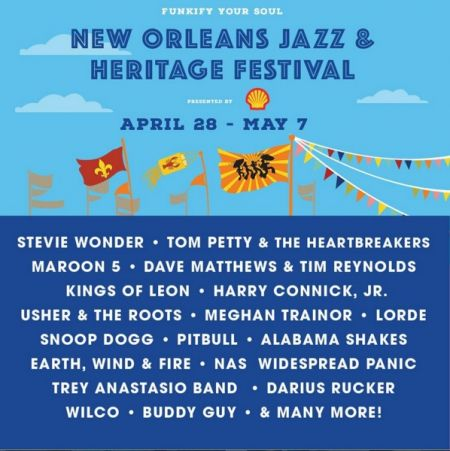 New Orleans Jazz Fest 2018 >> New Orleans Jazz And Heritage Festival Axs