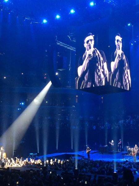 Eric Church played to a sold-out crowd at Brooklyn's Barclays Center on Friday, January 27, 2017.
