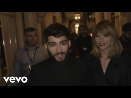 Watch: Taylor Swift praises Zayn in 'I Don't Wanna Live Forever' behind the scenes video
