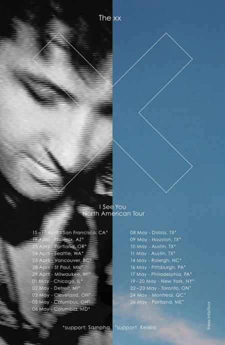 The xx have announced additional shows in New York and San Francisco on their upcoming world tour in support of I See You.