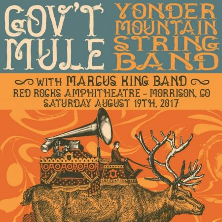 Gov't Mule and YMSB are teaming up for a show at Red Rocks on August 19