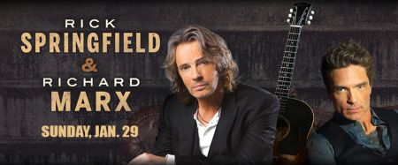Rick Springfield, Richard Marx outstanding and acoustic in Akron