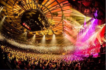 A photo from Phish's 2016 stint at MSG