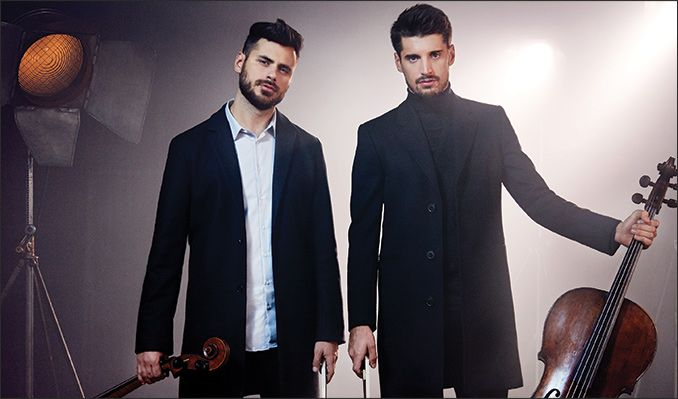 2CELLOS tickets at The Greek Theatre in Los Angeles
