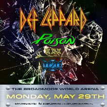 Def Leppard tickets at Broadmoor World Arena in Colorado Springs