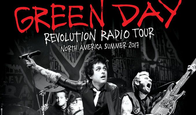 Green Day tickets at Fiddler's Green Amphitheatre in Greenwood Village