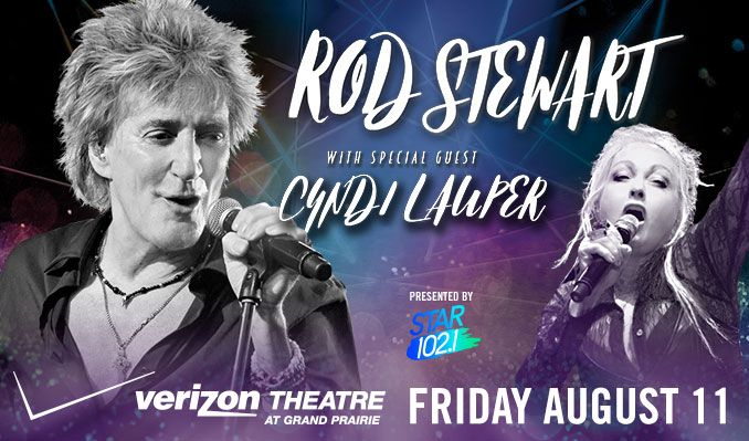 Rod Stewart tickets at Verizon Theatre at Grand Prairie in Grand Prairie