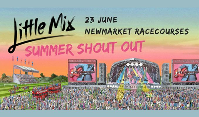 The Jockey Club Live Presents: Little Mix tickets at Newmarket Racecourses in Newmarket
