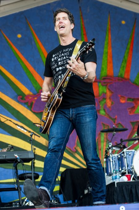 Better than Ezra performs at New Orleans Jazz & Heritage Festival