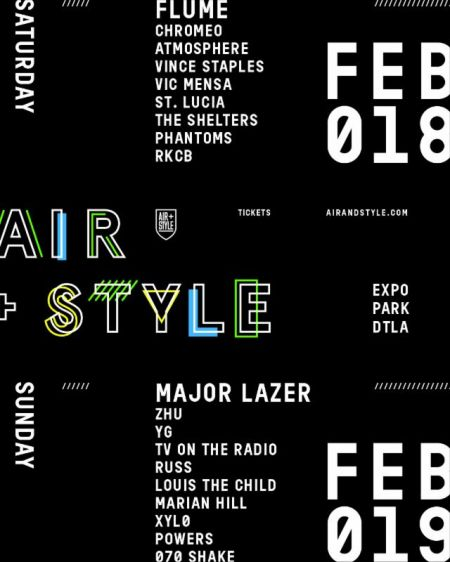 Air + Style LA announces day-by-day music lineup